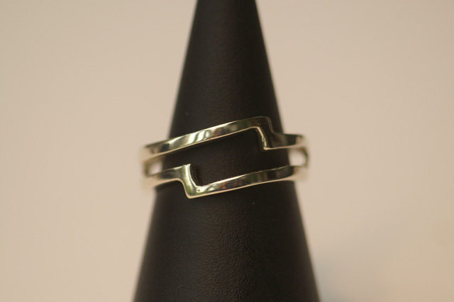 Wedding ring of three part set