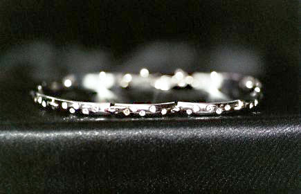 Diamond Set Link Bracelet